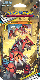 Groudon Theme Deck packaging.
