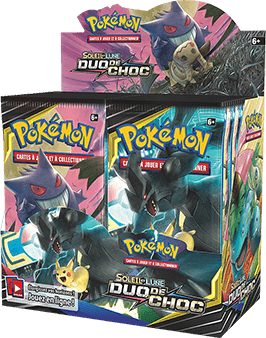 Booster Display Box packaging.