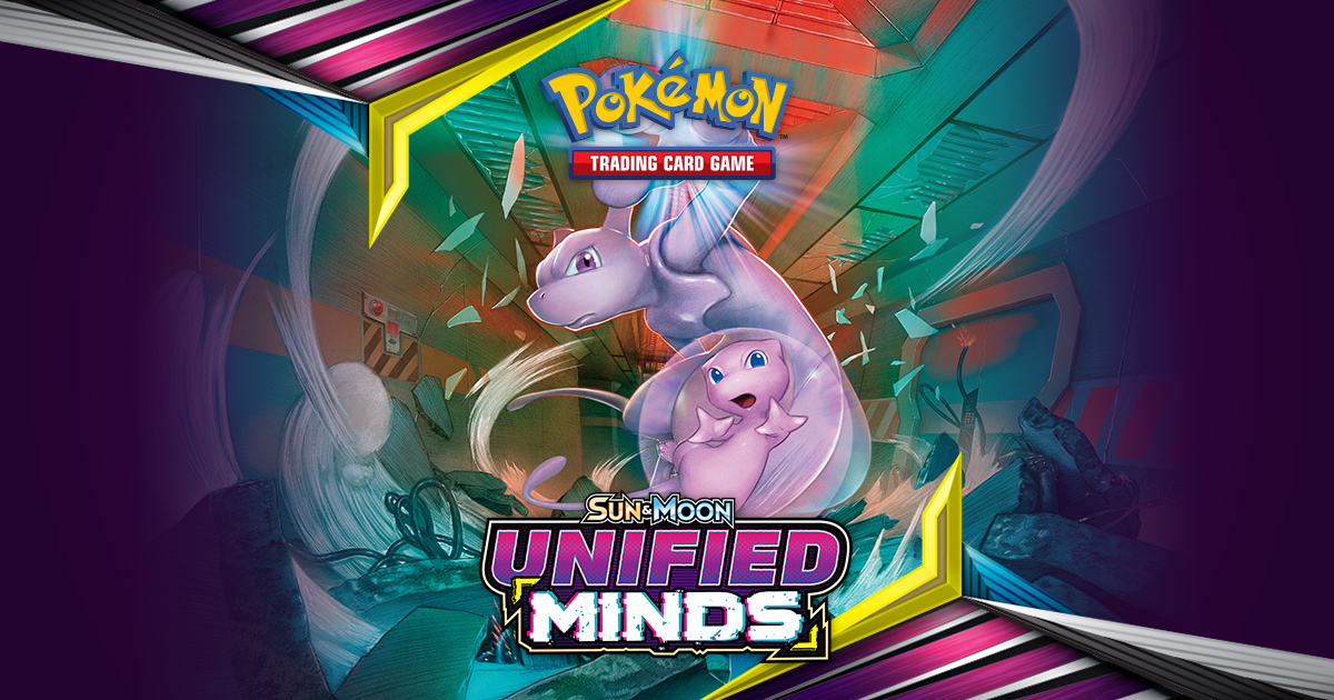 Homepage | Pokémon TCG: Sun & Moon—Unified Minds