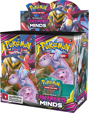 Pokémon TCG: Sun & Moon—Unified Minds Elite Trainer Box